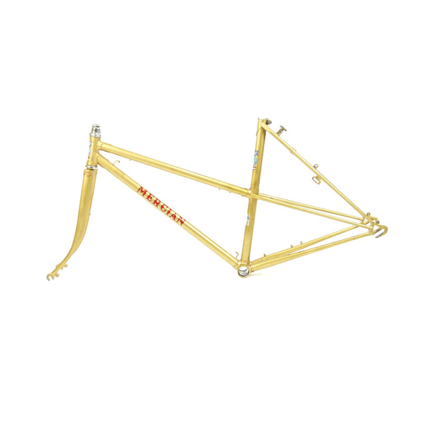 Mercian step through gold non-drive side
