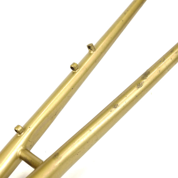 Mercian step through gold seat stays minor damage