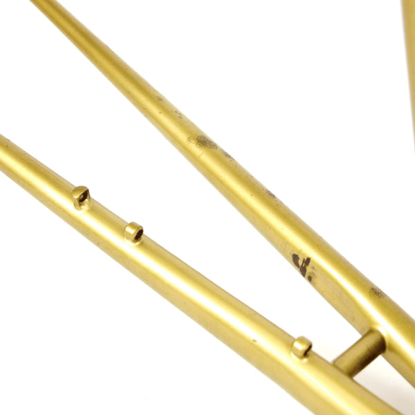 Mercian step through gold seat stays