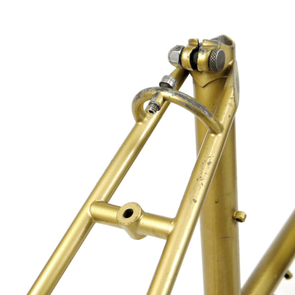 Mercian step through gold seat clamp and seat stays