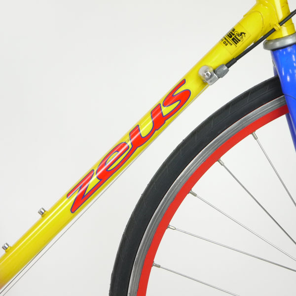 Zeus Ibardin Road Bike | Red / Yellow / Blue 58cm