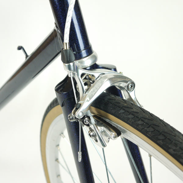 Blue Step Through Single Speed | 56cm