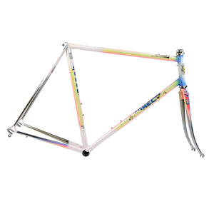 Somec white rainbow frame drive side