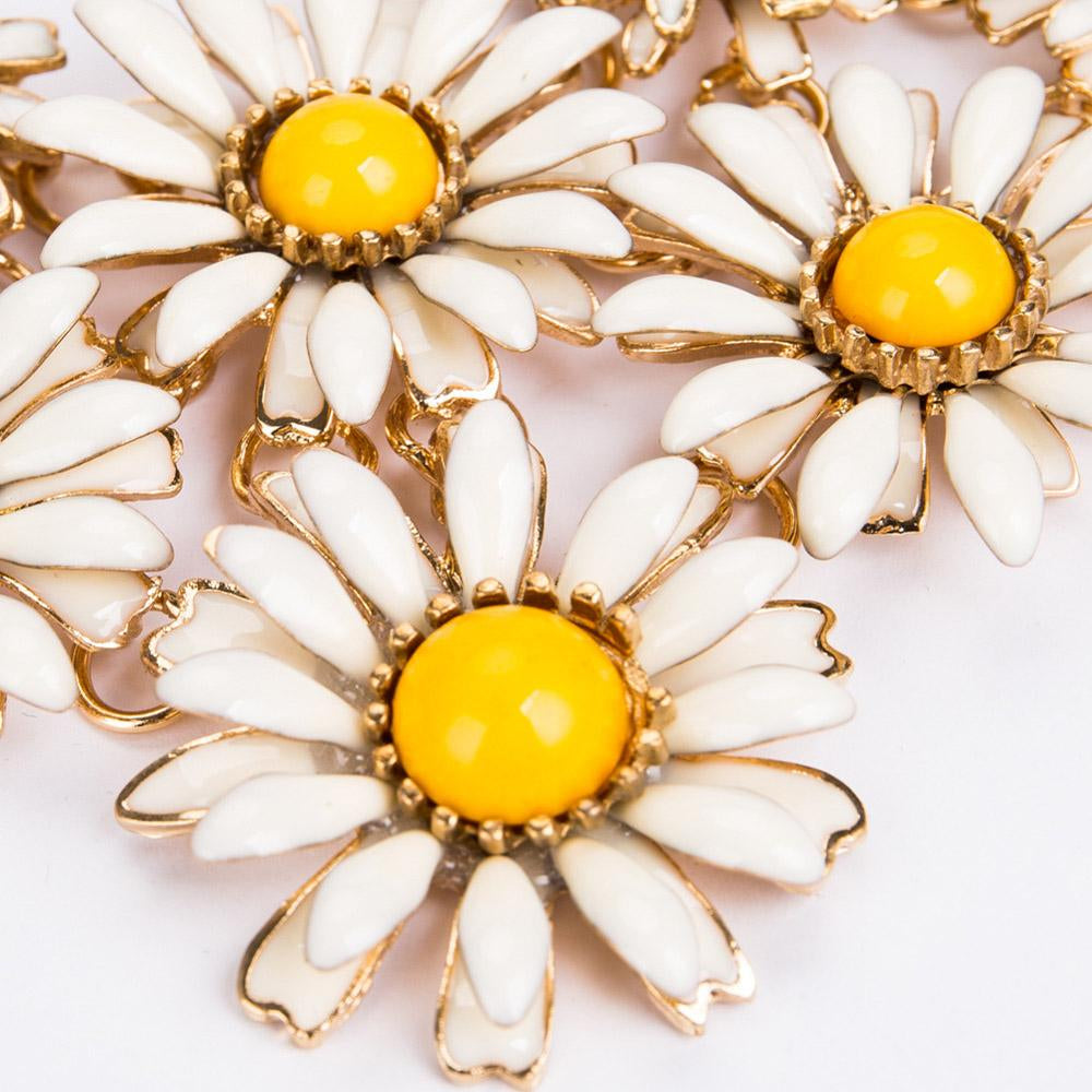 Boho Daisy Necklace
