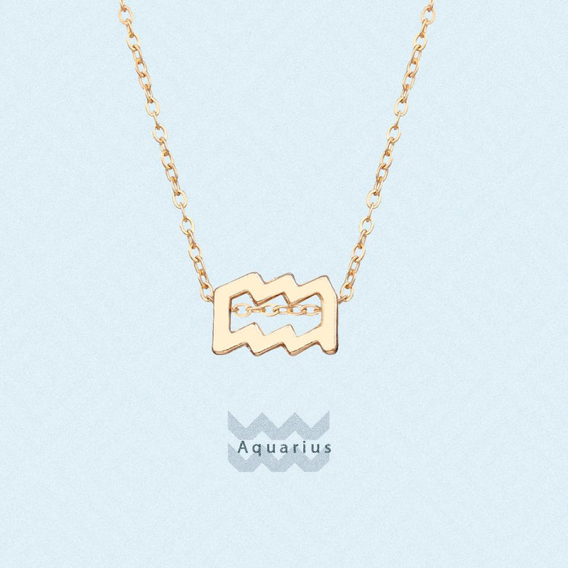Twelve Constellations Necklace