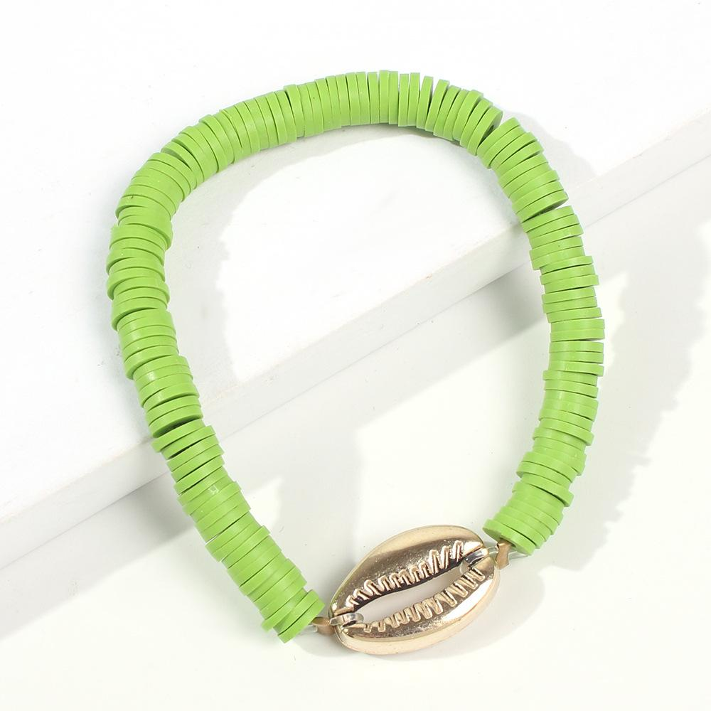 Sweet Colored Shell Bracelet