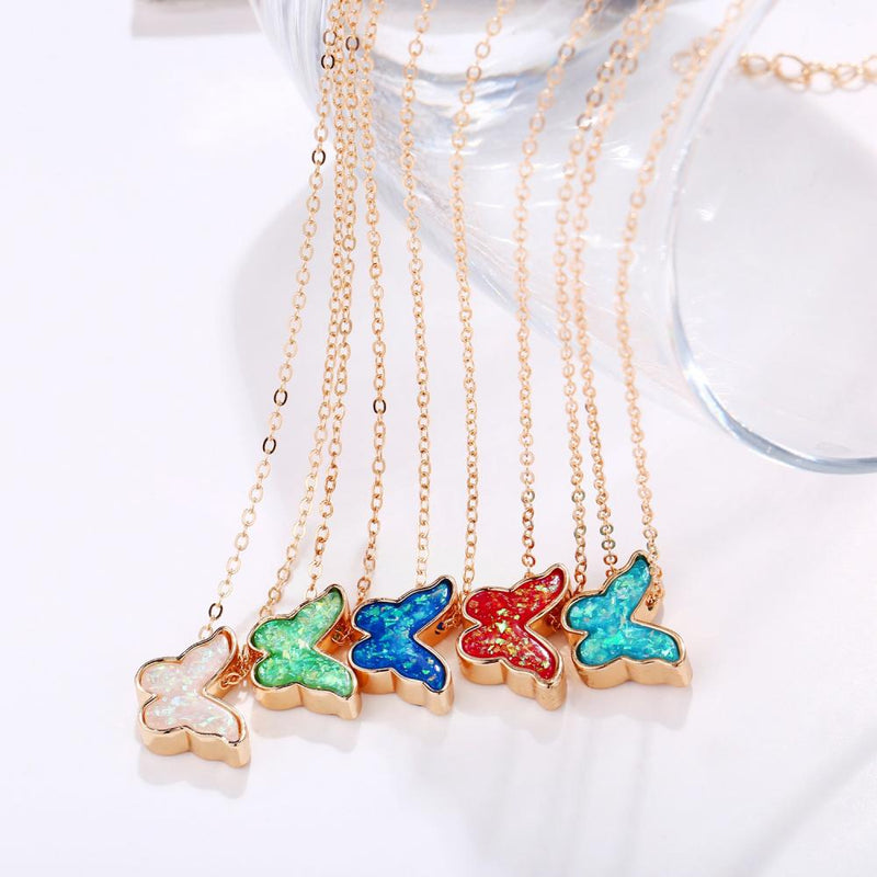 Butterfly Retro Necklace