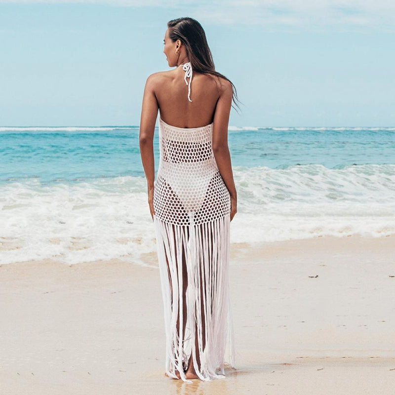 Crochet Blouse Beach Dress