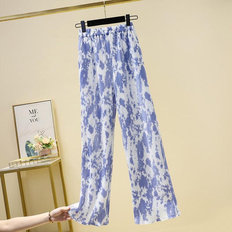 Tie-dye Casual Trousers