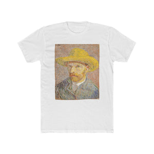 Self-Portrait with a Straw Hat (Crew Tee)