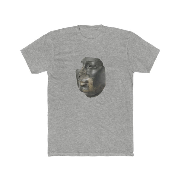 Face attributed to Ptolemy II Philadelphos (285–246 B.C.) - Crew Tee