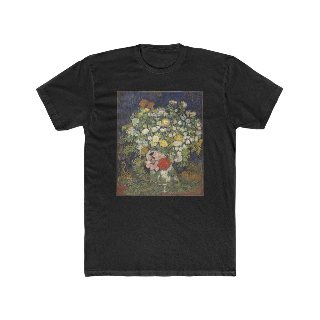 Bouquet of Flowers in a Vase (1890) - Crew Tee