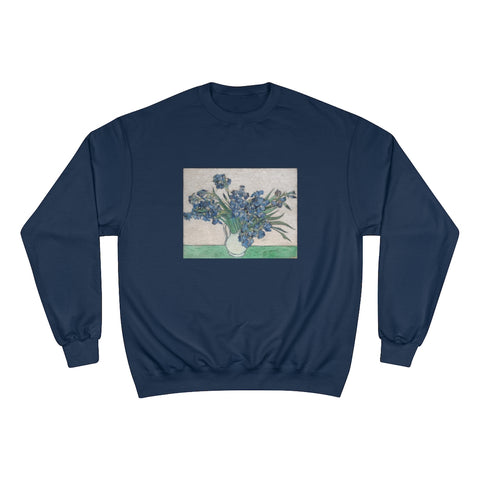 Irises (1890) - Champion Sweatshirt