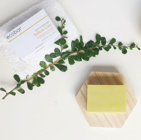 Yellow Clay Gentle Bath Bar