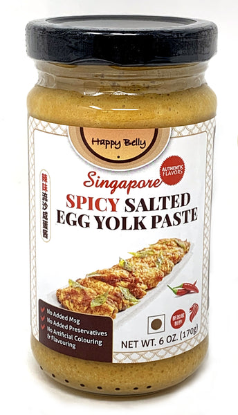 Happy Belly Spicy Salted Egg Yolk Paste