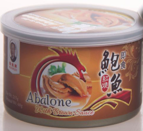 HAIKUI READY-TO-EAT ABALONE WITH BROWN SAUCE (2PC/CAN) #2006