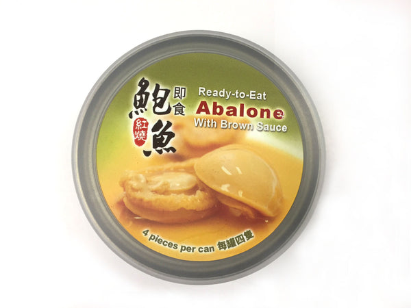 HAIKUI READY-TO-EAT ABALONE WITH BROWN SAUCE (4PC/CAN) #2009