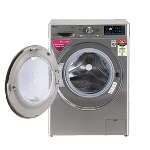 LG 9 Kg 5 Star Inverter Wi-Fi Fully-Automatic Front Loading Washing Machine (VCM, Steam)