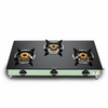 Preethi Blu Flame Sparkle Nature Glass Top 3 Burner Gas Stove, Manual Ignition ( 19000045 )