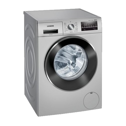 Siemens 7kg Fully Automatic Front Loading Washing Machine - WM12J26SIN , Silver