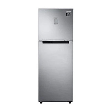 Samsung 253 L 2 Star Inverter Frost Free Double Door Refrigerator (Silver, Convertible)