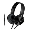 Sony MDR-XB450AP Wired Extra Bass On-Ear Headphones with Tangle Free Cable, 3.5mm Jack, Headset with Mic for Phone Calls