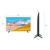 Samsung 189 cm (75 inches) 4K Ultra HD Smart LED TV UA75TU8000KXXL