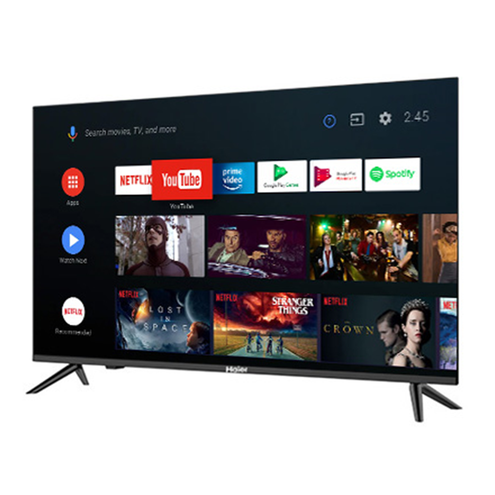 Haier 163cm (64.17 Inches) Google Certified Android Smart UHD 4K LED TV LE65K6600HQGA (2020 Model)