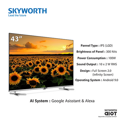 Skyworth 43UB7550 43 inch 4K UHD LED TV