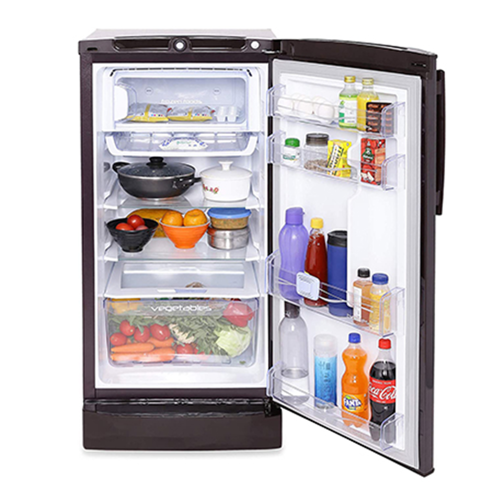 Godrej Edge Pro 190 Ltr 4 Star Direct Cool Single Door Refrigerator - RD EDGEPRO 205D 43 TAI AQ BL