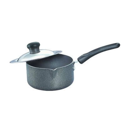 Prestige Omega Select Plus Milk Pan 160 mm with SS Lid ( 30725 , Black )
