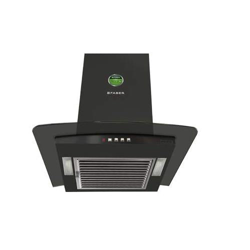FABER Chimney Pretty Plus BK PB LTW 60 (Baffle Filter)