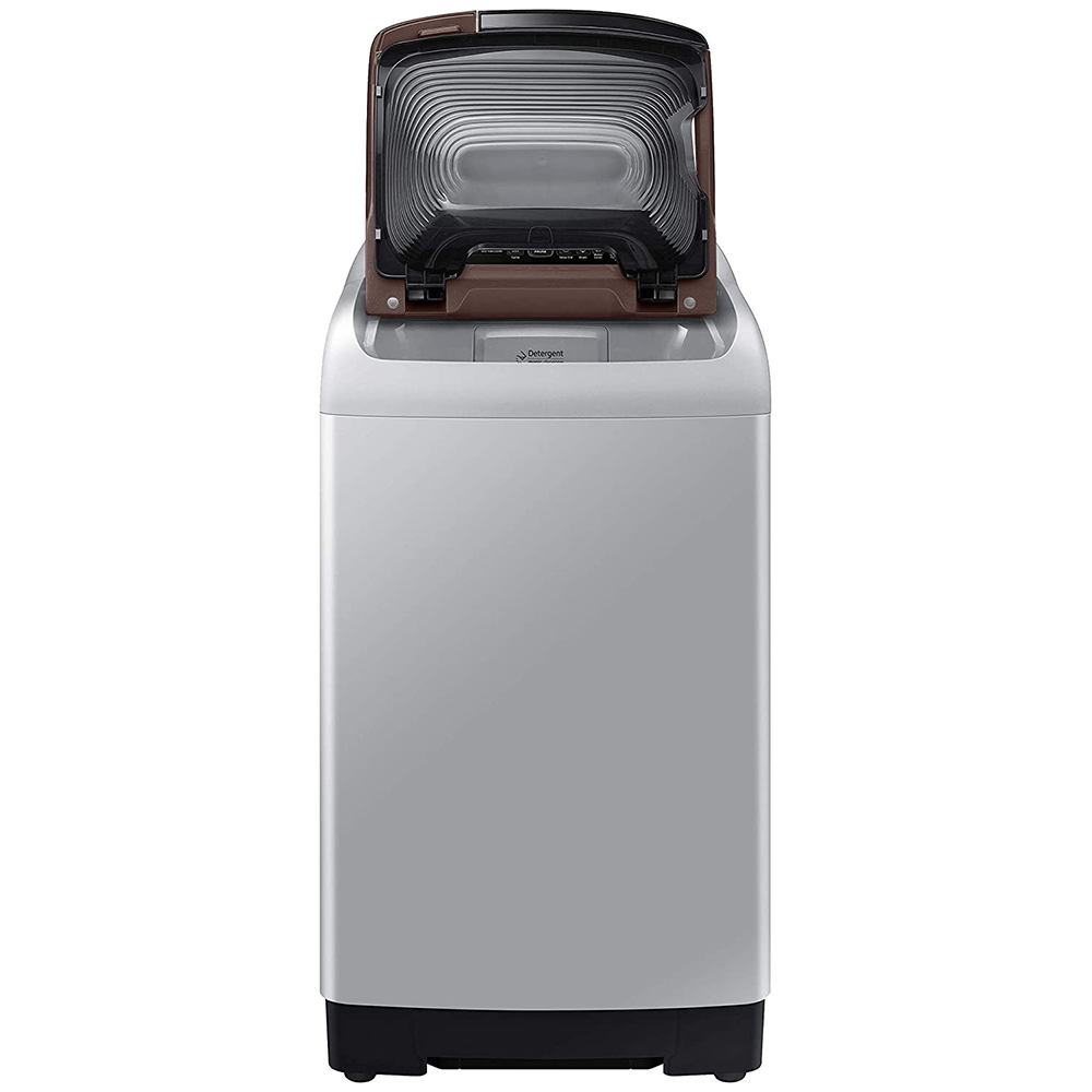 Samsung 6.5 Kg Inverter 5 star Fully-Automatic Top Loading Washing Machine (WA65T4560NS/TL, Imperial Silver, Wobble technology)