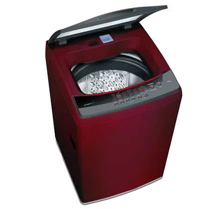 Bosch  7.5 Kg 680 Rpm Fully Automatic Top Loading Washing Machine Red - WOE754C1IN