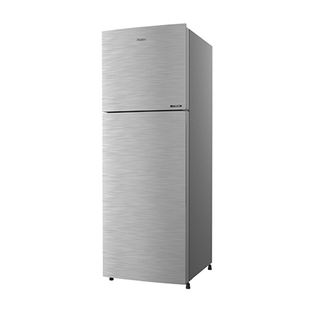 Haier 258 L Frost Free Double Door 3 Star Convertible Refrigerator (Brushline Silver, HRF-2783BS-E)