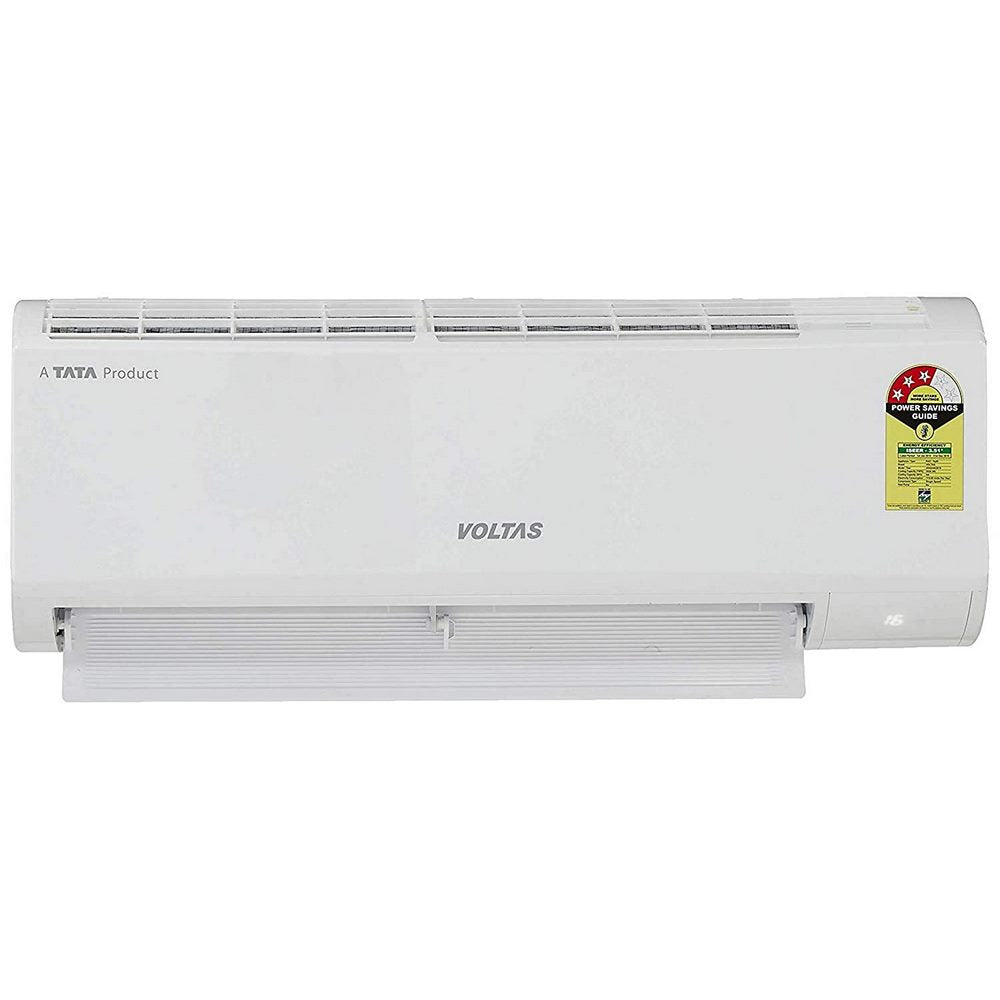 Voltas 1 Ton 3 Star Split AC ( 4502780 , 123_DZX , Copper , White )