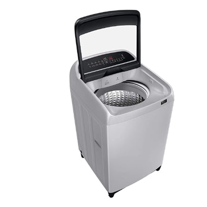 Samsung 9 Kg Inverter 5 star Fully-Automatic Top Loading Washing Machine WA90T5260BY/TL-Lavender Grey-wobble technology
