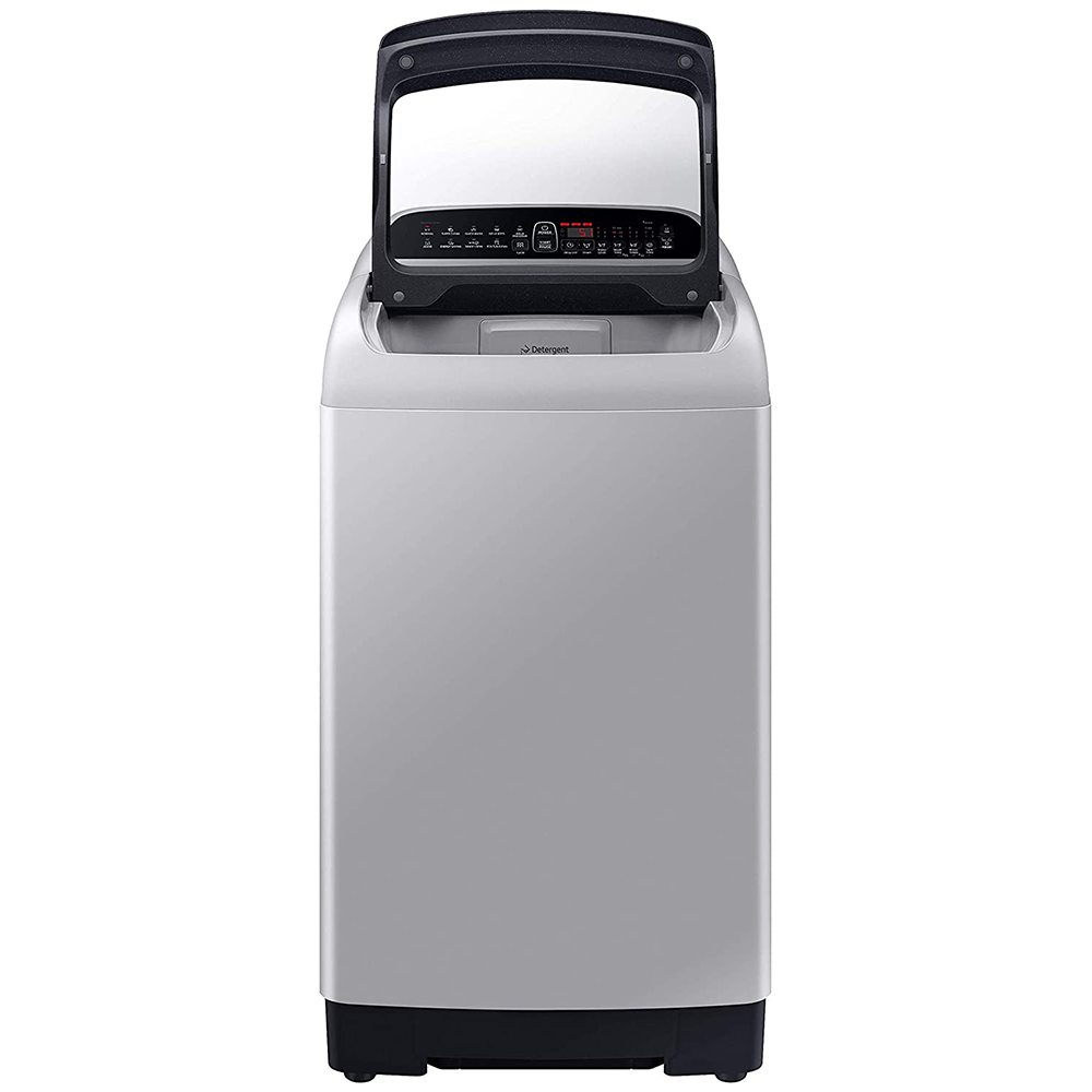 Samsung 7.0 Kg Inverter 5 star Fully-Automatic Top Loading Washing Machine (WA70T4262BS/TL, Imperial Silver, Wobble technology)
