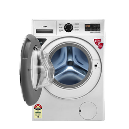 IFB 7.0Kg 1000Rpm Front Loading Washing Machine Silver - 8903287024375