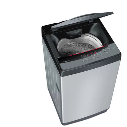 Bosch 6.5 Kg 680 Rpm Fully Automatic Top Loading Washing Machine Silver - WOE654S1IN