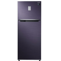 Samsung 465 L 2 Star Frost Free Double Door Refrigerator(RT47K6238UT/TL, Blue, Convertible)