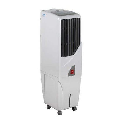 Cello Tower+ 25 Ltrs Tower Air Cooler (White) - with Remote Control