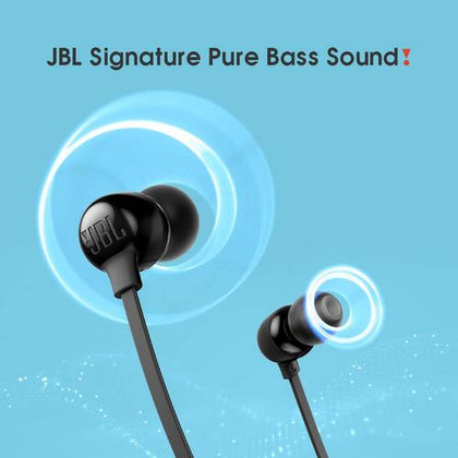 JBL Tune 115BT in-Ear Wireless Headphones with Deep Bass