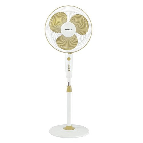Havells Trendy 400mm Pedestal Fan Golden White