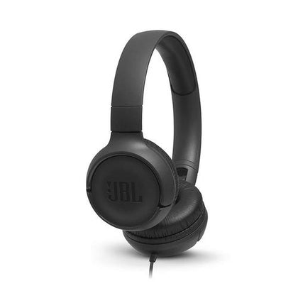 JBL Tune 500 Powerful Bass On-Ear Headphones with Mic