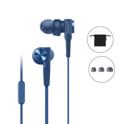 Sony MDR-XB55AP Wired Extra Bass in-Ear Headphone
