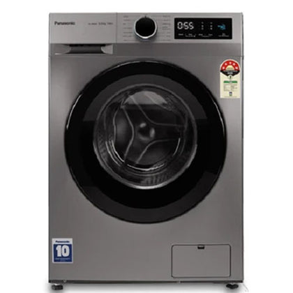 Fully Automatic Front Loading Panasonic NA-148MB3L01 Washing Machine, Grey