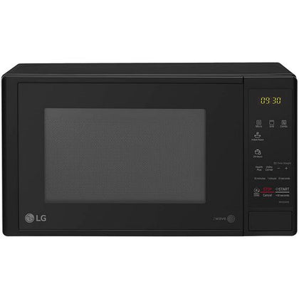 LG 20 L Grill Microwave Oven (MH2044DB, Black, With Starter Kit)