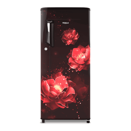 Whirlpool 200L Icemagic Powercool Single Door Refrigerator ( 71626 , 215 IMPC PRM , 3 Star , Wine Abyss )