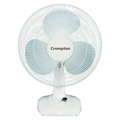 Crompton HiFlo Eva 16-inch Table Fan 400mm (White)
